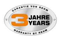3 - letá záruka REHM